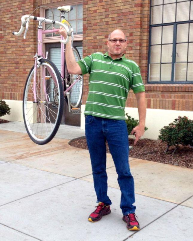 Real Men Ride Pink Bikes