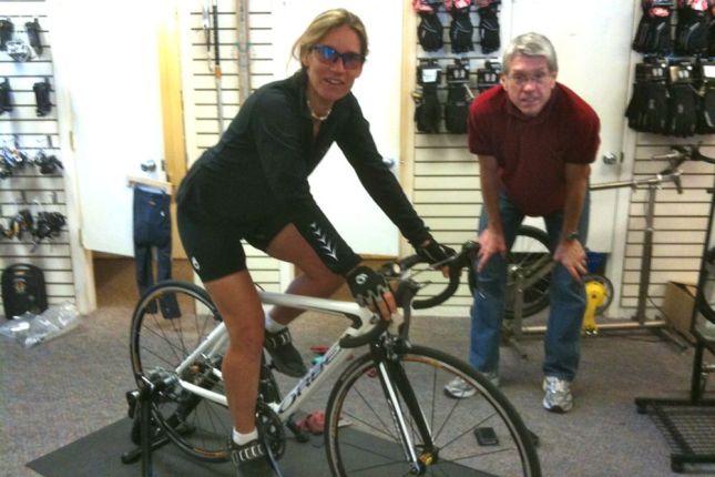 Steph Buys a Bike