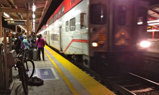 Caltrain Night