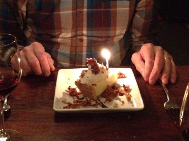 Dessert for him: The delightfully light JoLē signature coconut cream pie.