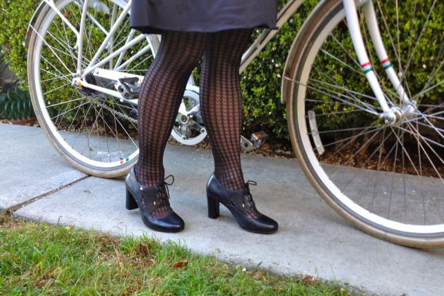 Lace-front pumps are a comfy alternative to classic Mary Janes.