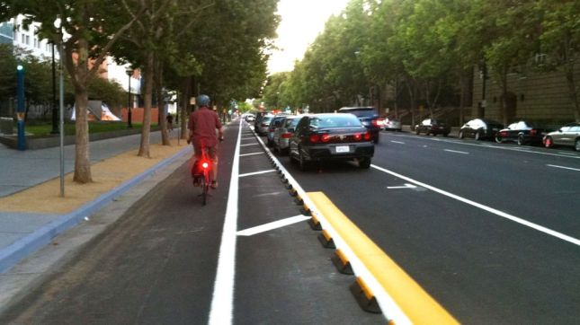 San Jose Protected Bike Lanes