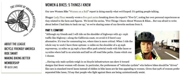 LAB Women Bike Blog