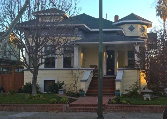 San Jose's Naglee Park district is known for its  grand historic homes.