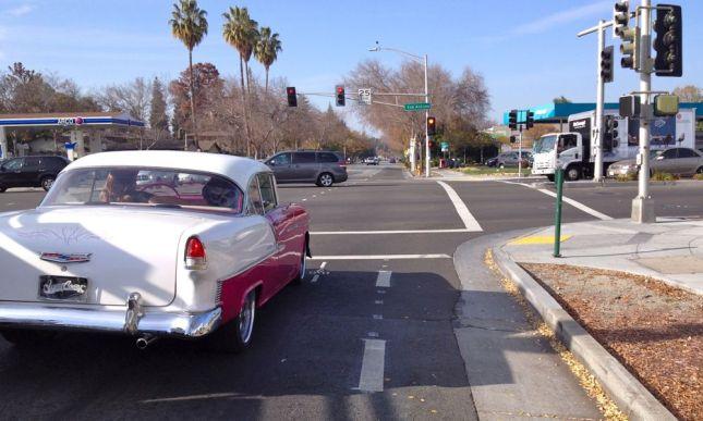 Crossing San Antonio Road