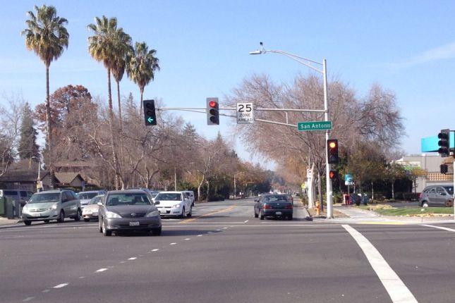 Narrow Lane on Middlefield 2