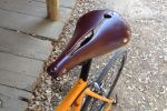 Unlike Brooks saddles, no break in was needed for his Sella Anatomica.
