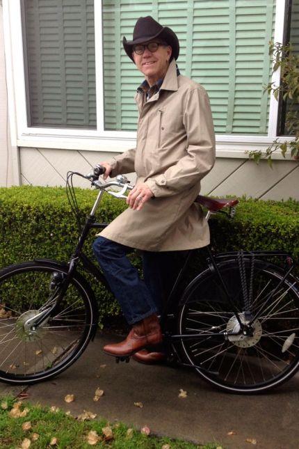 Cowboy Bike Portrait
