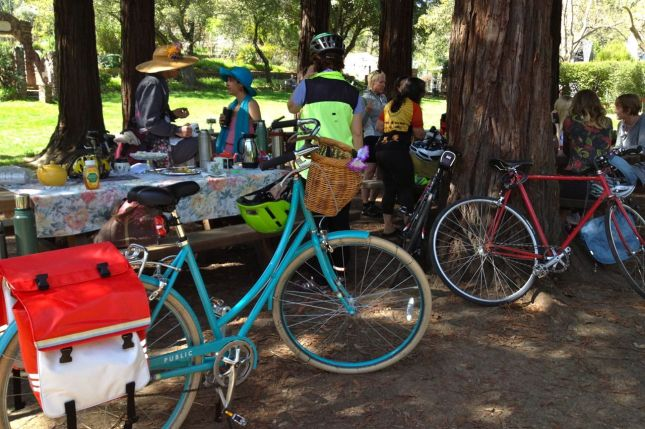 Bikes at Tea Party