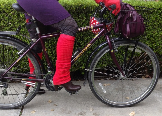 I wore them in the 80s and I'm wearing them again. Leg warmers for the win!