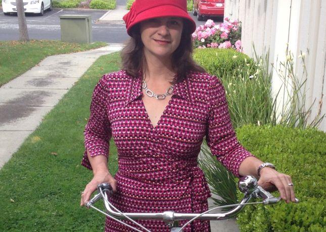 I can never have too many Diane von Fürstenberg-inspired wrap dresses.
