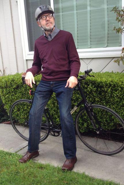 Bike Date Portrait 1