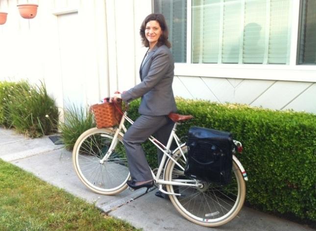 Bike in Suit