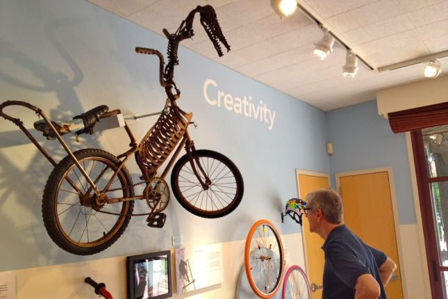 The creativity of bike builders knows no bounds.