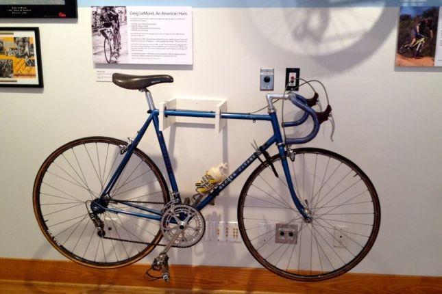 This Cycle Gitane bike was the first bike Tour de France winner Greg Lemond rode after turning pro in 1981.