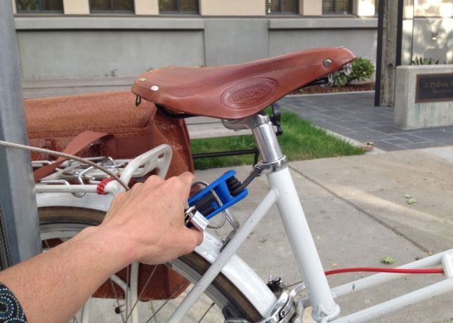 The multi-tool has Allen wrenches that fit almost every bolt on your bike.