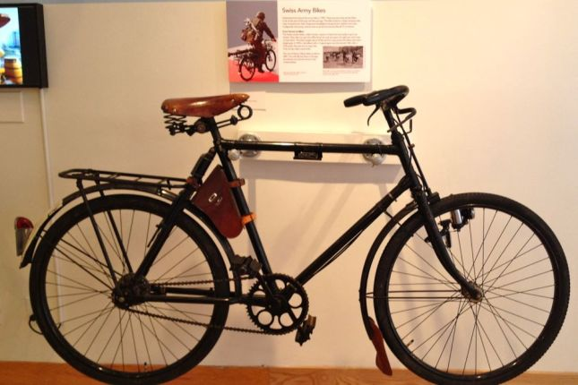 The Swiss Army Bike may be vintage but its timeless design is still found in city bikes today.