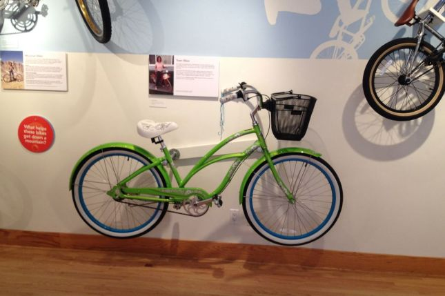 Beach cruiser bikes, like this one by Electra, set the standard for comfort.