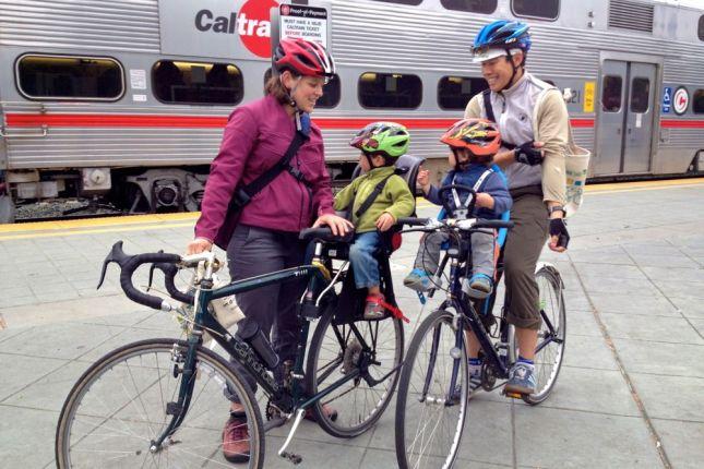 Caltrain Family Bikes