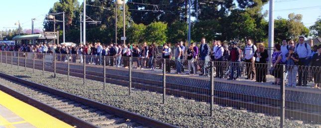 Caltrain Platform