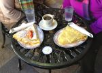 The Paseo offers several dining options, including crepes, sandwiches and pastries at La Lune Sucrée.