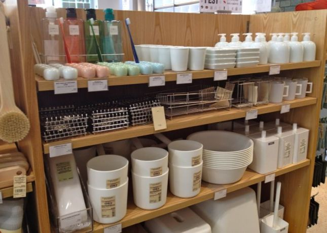Third stop will be downtown's Paseo de San Antonio. Pop into MUJI for housewares, clothing and travel items.