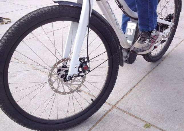With an electric-assist motor, fat tire comfort doesn't mean a slow ride.