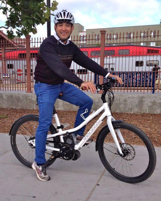 NTS e-bike portrait