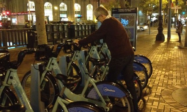 Bike Share at Night