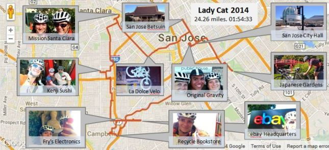 LadyCat Map
