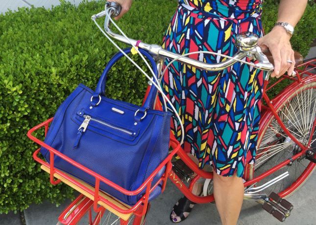 Basket or pannier? Both! Basket for my purse, pannier for my laptop.